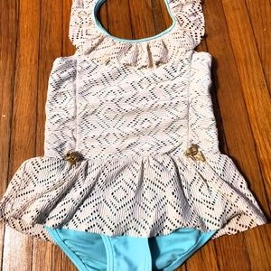 Hula Star Sandy Crochet Halter Swimsuit